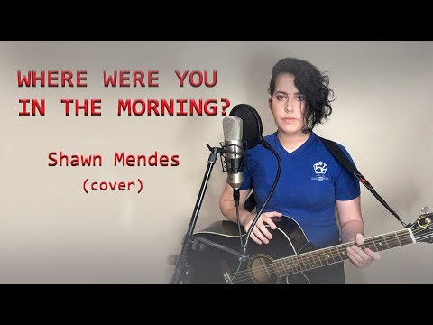 WHERE WERE YOU IN THE MORNING ? - Shawn Mendes COVER