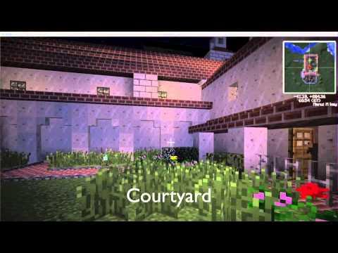 Mission Santa Barbara In Minecraft Youtube