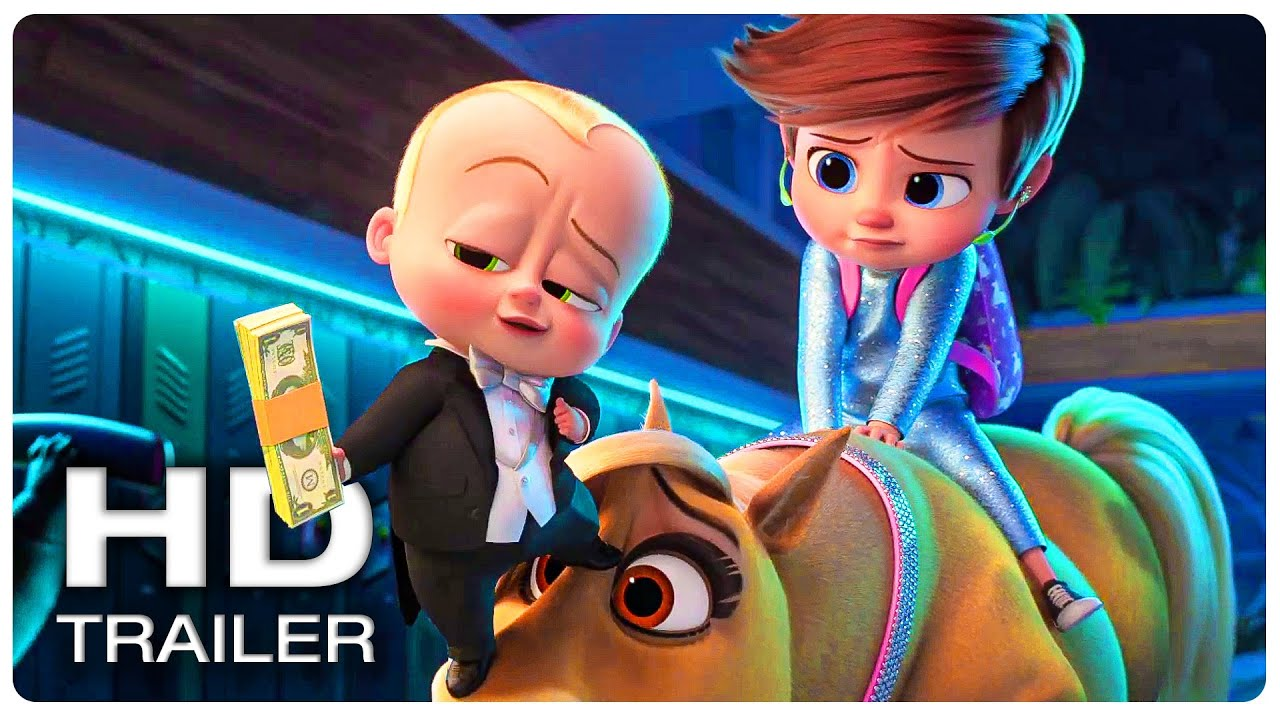 THE BOSS BABY 2 FAMILY BUSINESS Official Trailer #1 (NEW 2021) Animated Movie HD