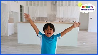 New House Update Tour with Ryan's Family Review!!!