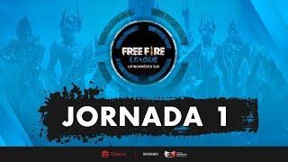 🔥 Free Fire League | LAS | Jornada 1 | Serie a 6 Partidas #FFLeague 🔥