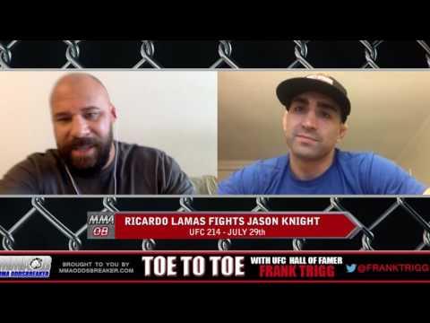 Frank Trigg pre-fight interview with UFC 214's Ricardo Lamas