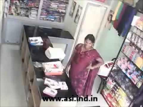CCTV Footage at kerala textiles