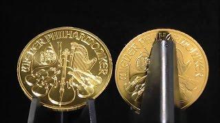 видео Золотые монеты Австрии