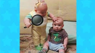 TRY NOT TO LAUGH! BABIES EATING FAILS & BLOOPERS 🥗 Funny Babies Videos Compilation