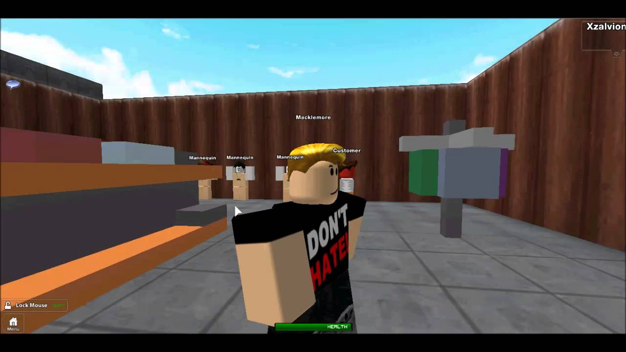 Thrift Shop By Macklemore Roblox Edition Youtube