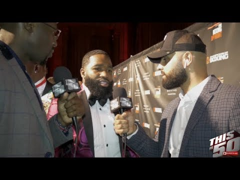 Is Adrien Broner Still Cool W/ Floyd & Rick Ross?? + Spence Says Crawford Doesn't Have A Chance