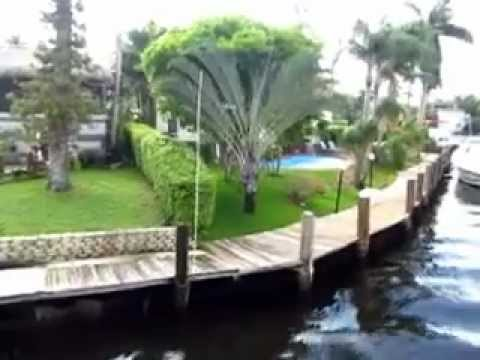 TOURING VENICE OF AMERICA, MILLIONAIRE'S ROW IN FT. LAUDERDALE, FLORIDA