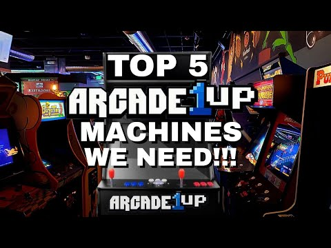 Top 5 Arcade 1up Machines We Need from Wiggles