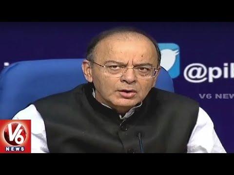 Finance Minister Arun Jaitley Addresses Press Conference | New Delhi | V6 News