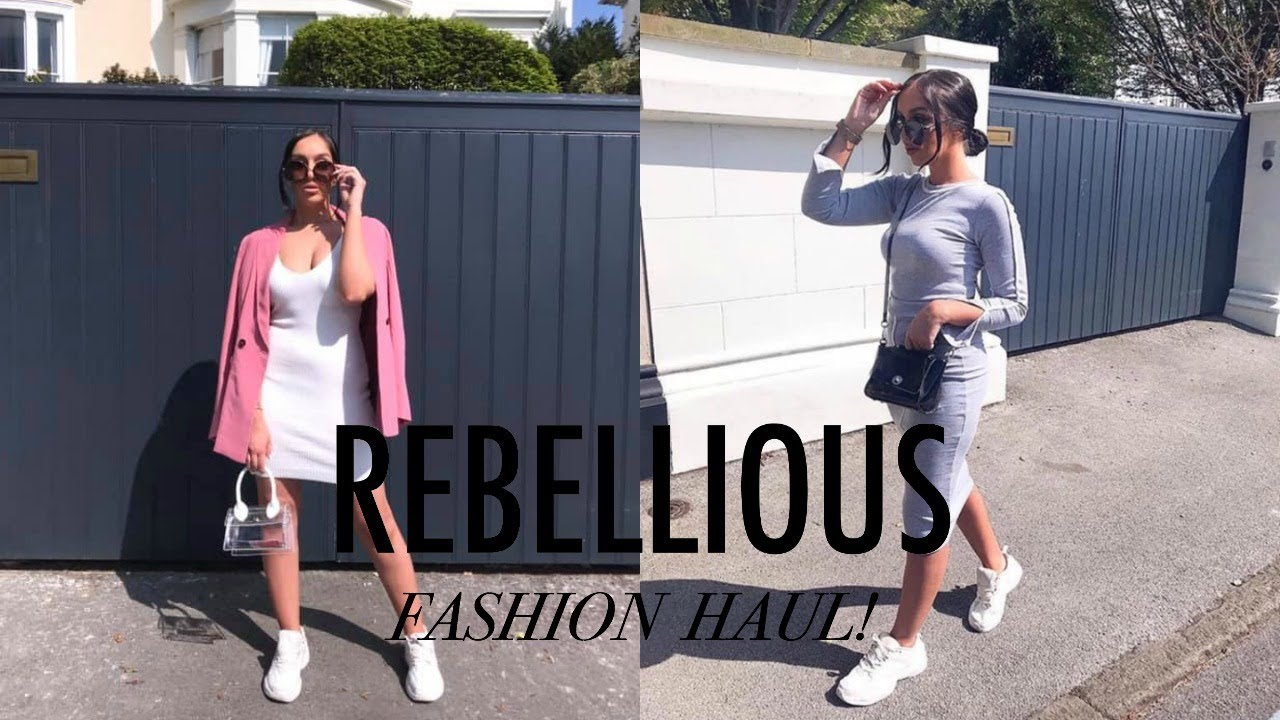 [VIDEO] - MASSIVE REBELLIOUS FASHION HAUL // SPRING / SUMMER OUTFIT INSPO 3