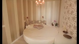 видео Круглая кровать в интерьере спальни