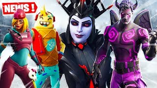 THE NEW SKINS ON FORTNITE ... (SKINS FREE AND RECOMPENSES)