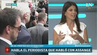 Wikileaks: la palabra del periodista argentino que habló con Assange