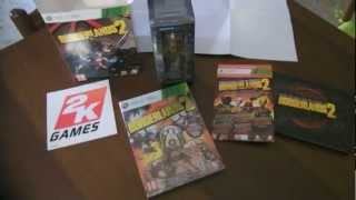 UNBOXING BORDERLANDS 2 - DELUXE VAULT HUNTER