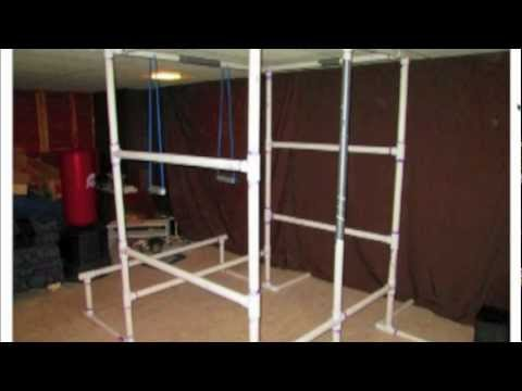 How To Build A Full Home Gym Out Of PVC & 27 Exercises On It