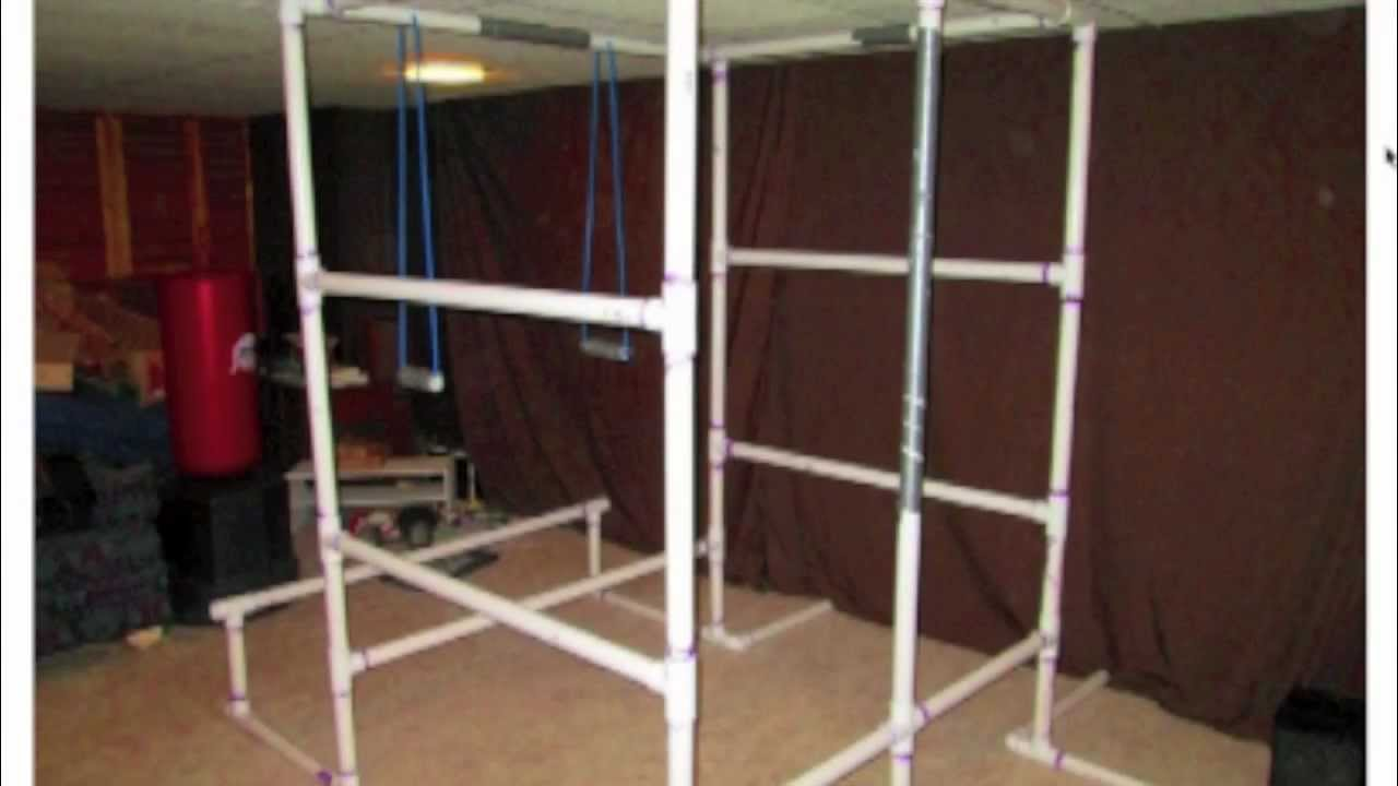 How To Build A Full Home Gym Out Of PVC  27 Exercises On