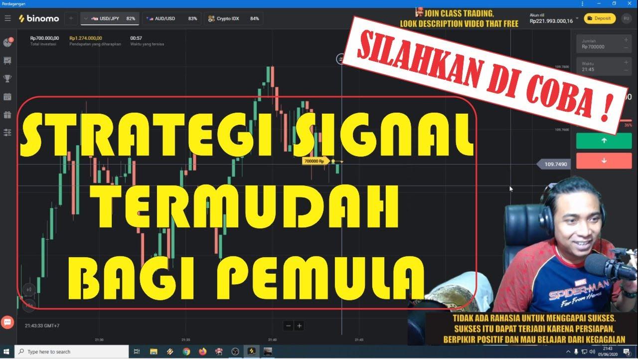 STRATEGI SIGNAL TERMUDAH 1 MENIT BAGI PEMULA ( TERBUKTI ...
