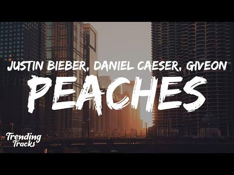 Justin Bieber – Peaches (Clean – Lyrics) ft. Daniel Caeser & Giveon