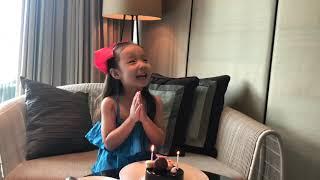 로라 여섯살 생일, 방콕 시암캠핀스키, 샹그릴라호라이즌…