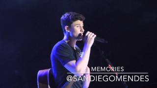 Shawn Mendes - Memories (Live at the Greek Theater 8/16/15)