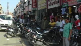 Karnal Ke Main Karan Bajar Me Chali Goliya Vyapari Nahi Nikle Bahar