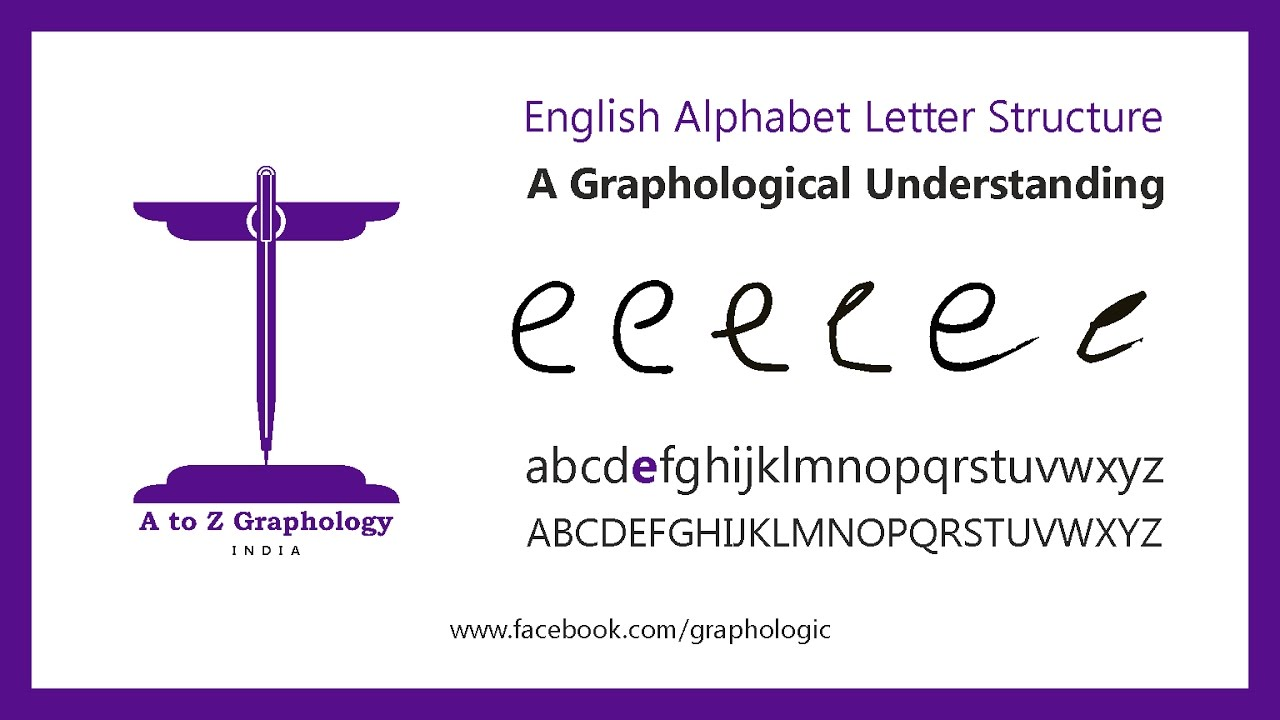 E For Cultured Thinking Letter Clues Graphological Meaning Of