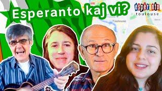 Esperanto, kaj vi? Viaj uzoj de la Lingvo Internacia (kun JoMo kaj Alex Miller)
