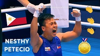 Nesthy Petecio (PHI) wins GOLD and becomes AIBA (57 kg) Women's Boxing World Champion 2019 - HD