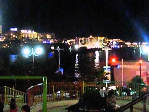 Sliema Nightlife 11:00 on a typical Malta night.