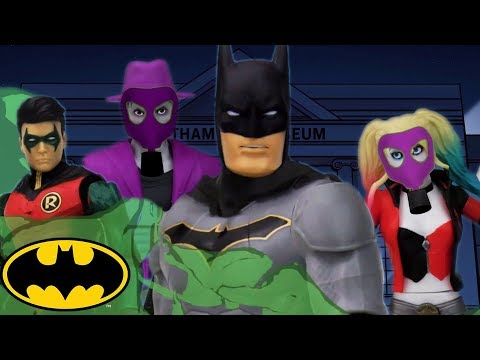 Museu de Cera  Batman  DC Kids