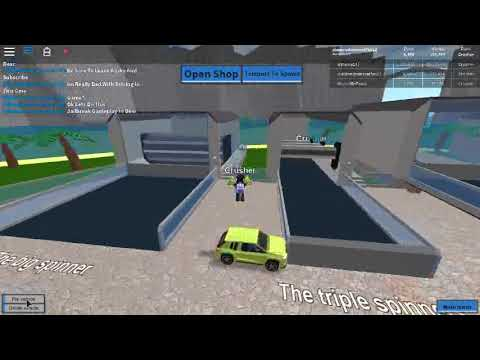 Roblox Car Crushers Kohls Admin Commands And Floating Car