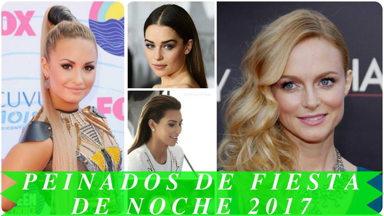 Peinados de fiesta de noche 2017 youtube - Peinados de fiesta ...