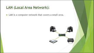 Types of computer network   Difference between LAN CAN MAN and WAN   Basics of computer Network 2018