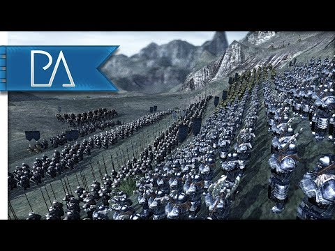 DEFENSE OF THE FORBIDDEN MOUNTAINS - Third Age Total War Reforged Mod Gameplay