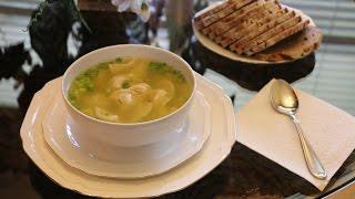 Как быстро приготовить суп.СУП ИЗ ПЕЛЬМЕНЕЙ НА ОБЕД ЗА 10 МИНУТ