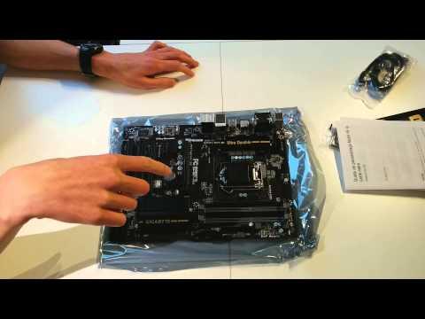 Gigabyte GA-H87-HD3 Unboxing