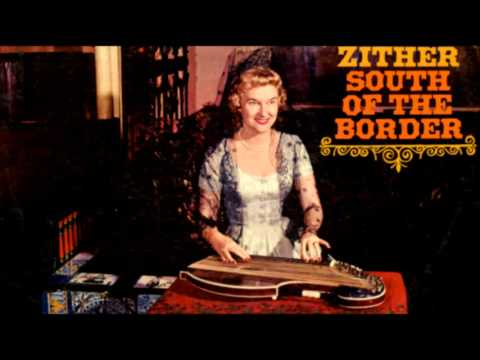 Zither South of the Border LP Ruth Welcome 1960, vinyl