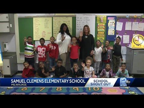 3/26 School Shout Out: Samuel Clemens Elementary school