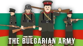 WWI Factions: The Bulgarian Army