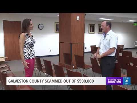 Galveston County was scammed out of $500,000