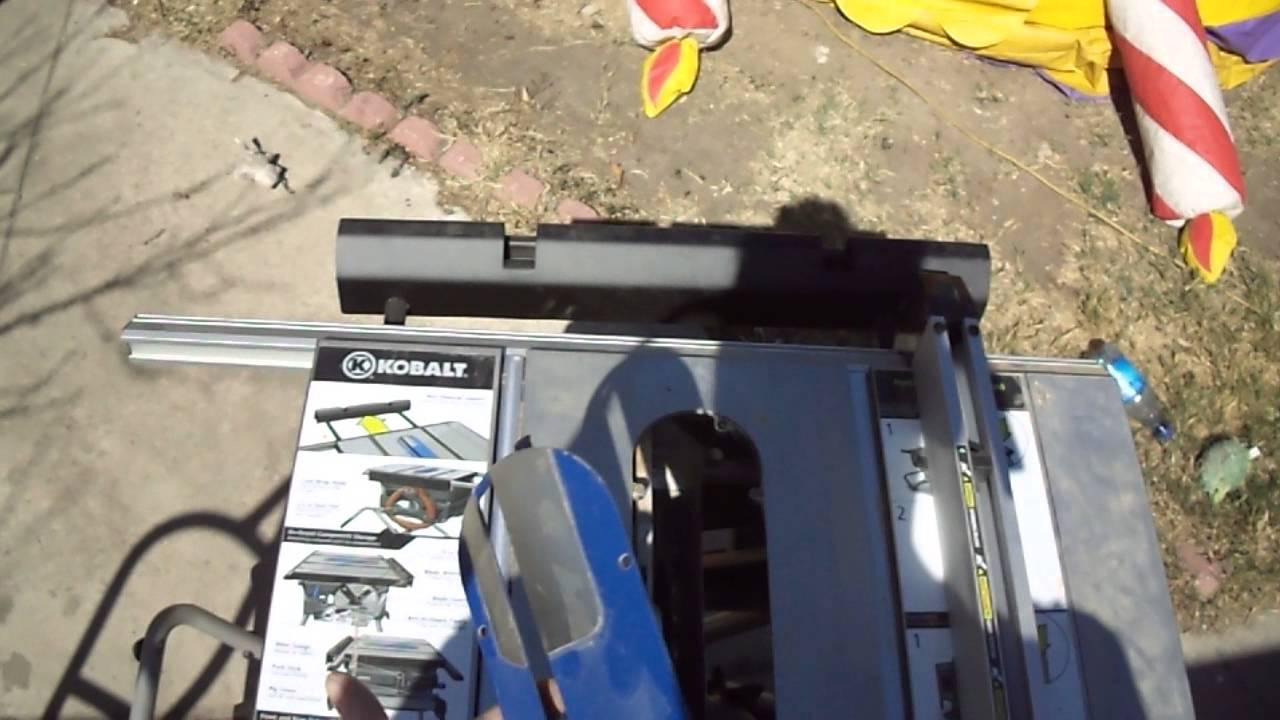 Kobalt 10 in table zero clearance table saw inserts help youtube greentooth Choice Image
