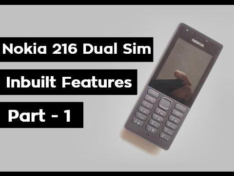 Nokia 216 Dual Sim Review | Unboxing Hands on | Keypad Mobile | Inbuilt Features | 2017