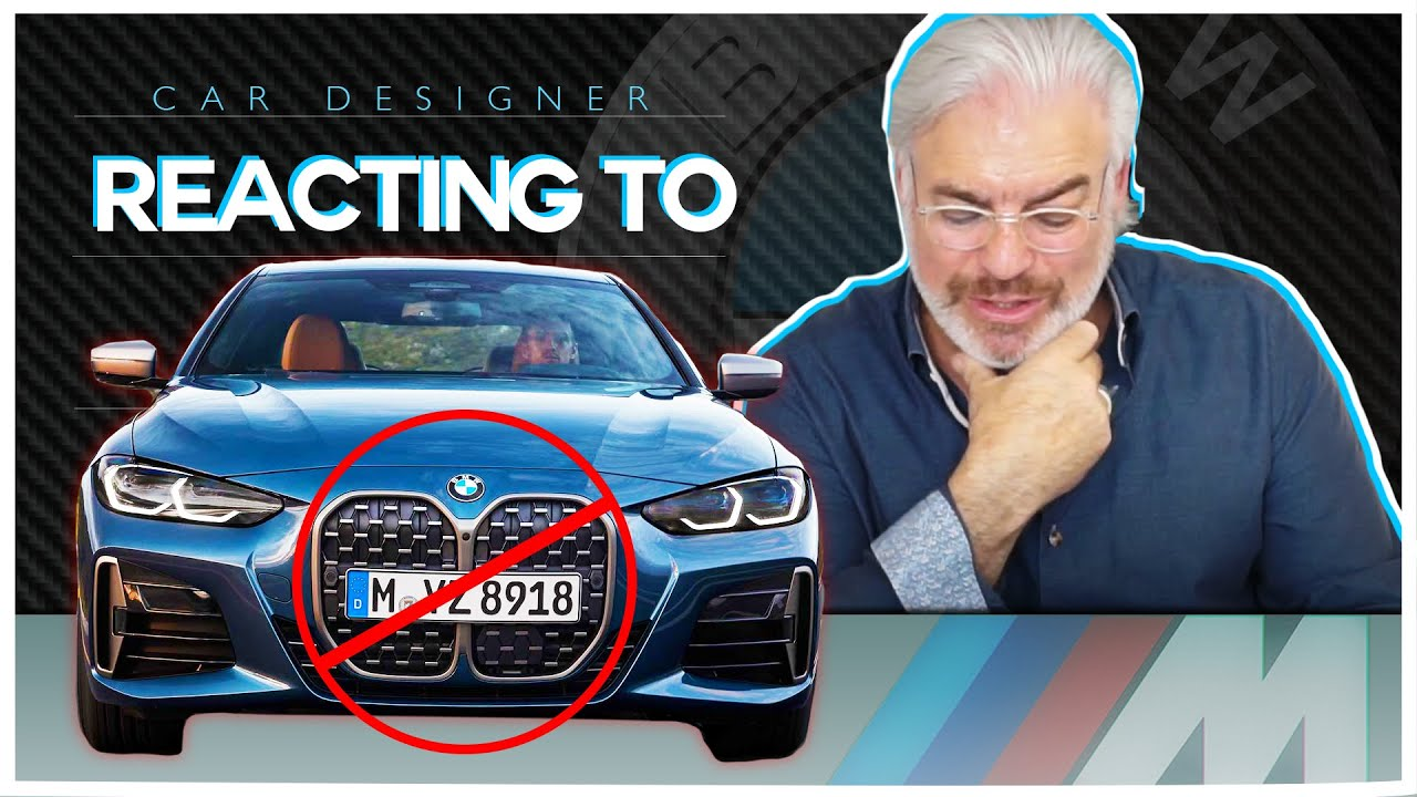 BMW X5 Designer Picks Apart The NEW 4 Series!