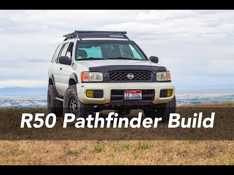 R50 Pathfinder Off-Road Build Overview - Lockers, Lift, Tires, Armor