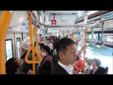 Tokyo streetcar - tramway - Straßenbahn - 都電荒川線 - 東京路面電車 - 東京