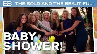 The Bold and the Beautiful / Hope Has Her Baby Shower!