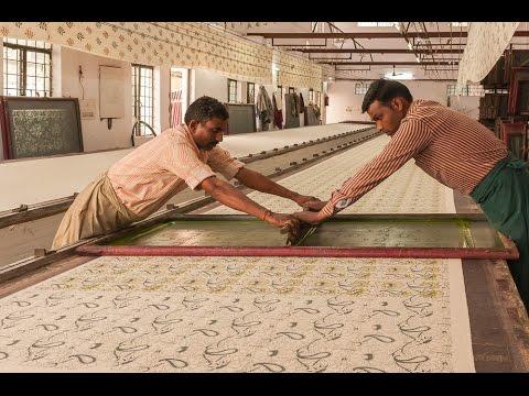 LAURA & KIRAN _ handprinted fabrics