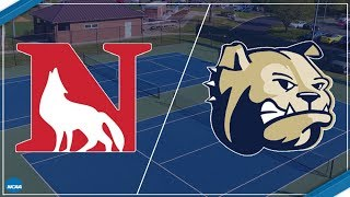 2018 South Atlantic Conference Men's Tennis - Newberry at Wingate (Court 1)