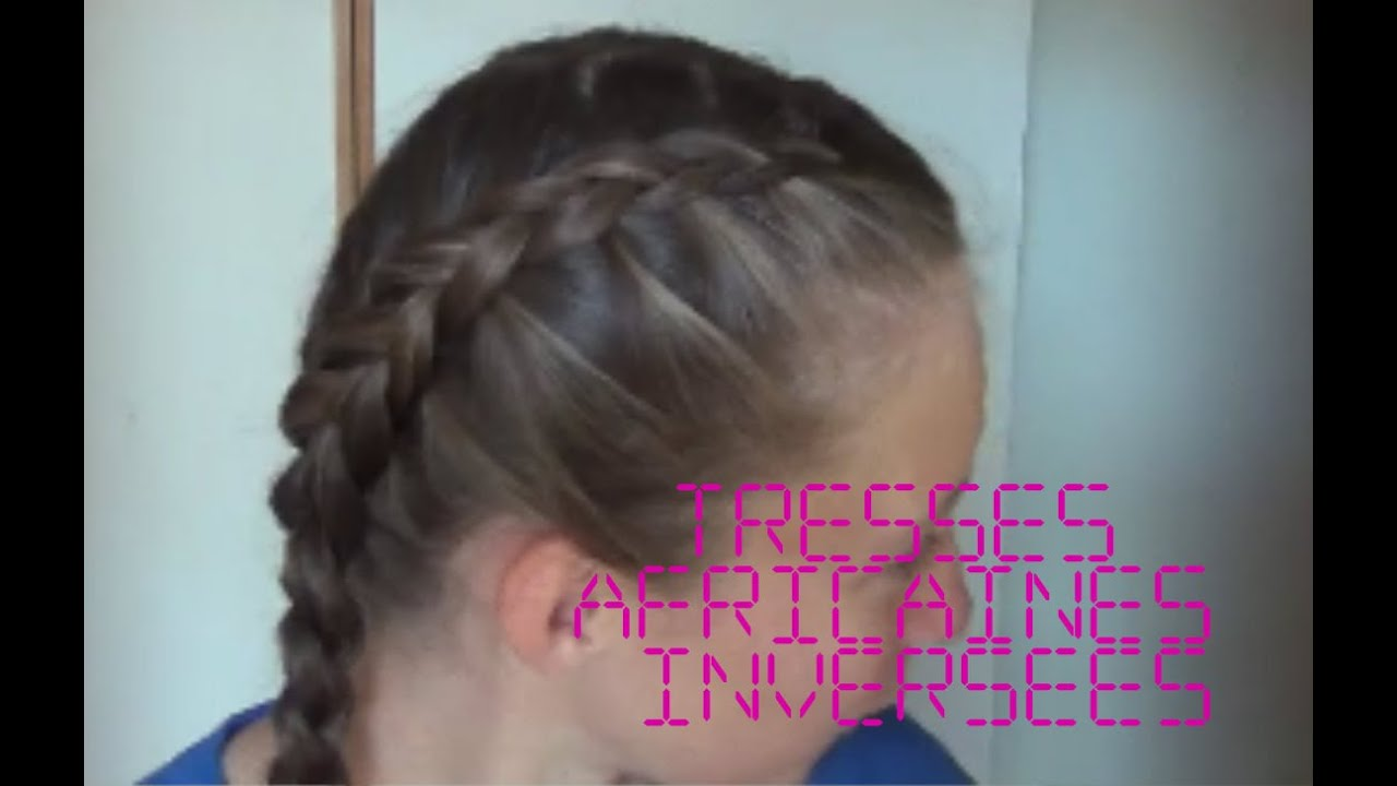 Comment faire soi m me deux tresses africaines invers es youtube - Comment faire deux tresse africaine ...